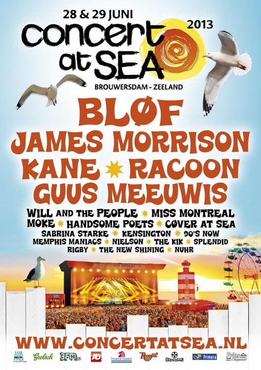 Artiesten Concert At Sea 2013