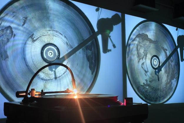 Planeet Aarde op vinyl