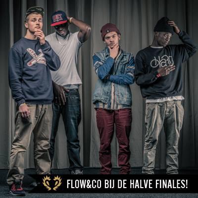 Flow & CO treden op bij de Hiphop halve finales van de Grote Prijs van Nederland 2013