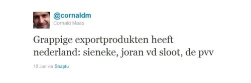 De tweet waarom Cornald Maas werd ontslagen door de TROS voor het Eurovisie Songfestival