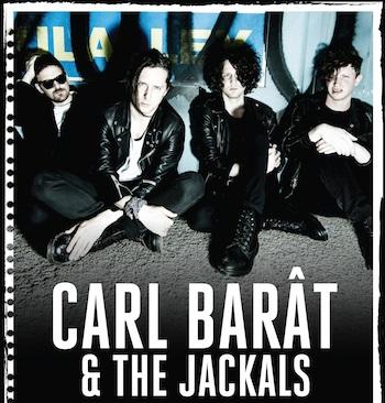 carl barat van The Libertines heeft een nieuwe band The Jackals