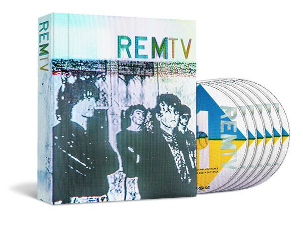 dvd REM en MTV: REMTV