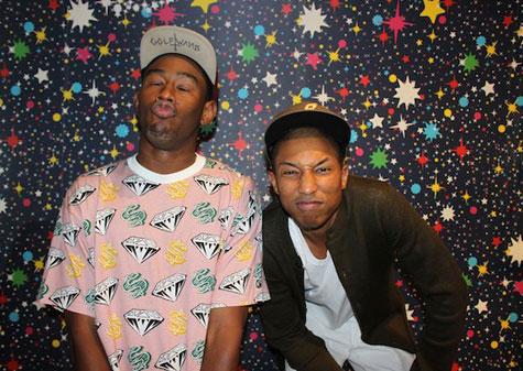 Tyler en Pharrell