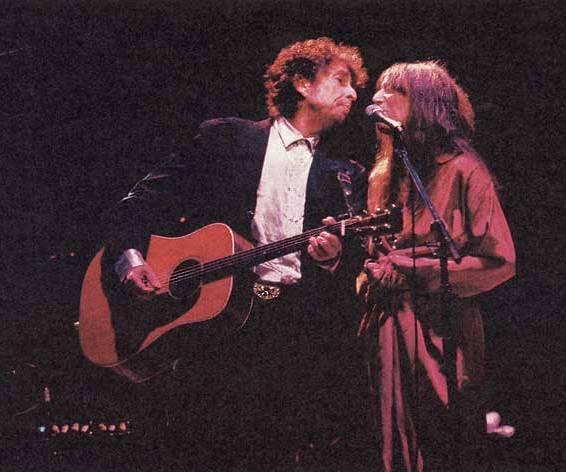Bob Dylan en Mavis Staples
