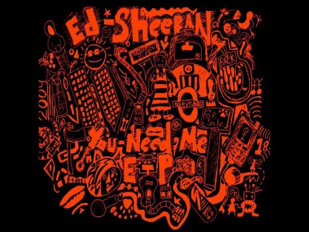Ed Sheeran en album nummer drie