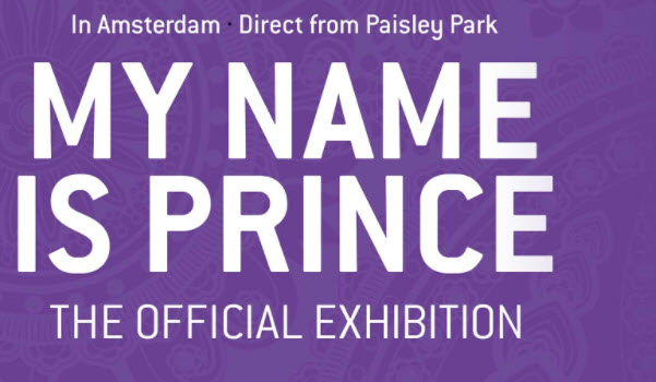 My Name Is Prince tentoonstelling Amsterdam