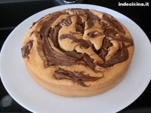 Torta Cocco e Nutella (Bimby)