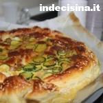 Torta salata zucchine pancetta e formaggio