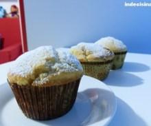 Muffin cioccolato bianco e marmellata