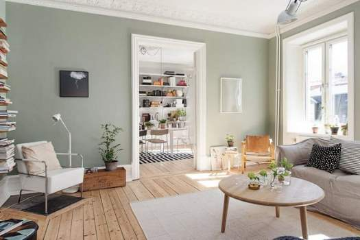 Green Of Gray Interior Paint Colors 2019