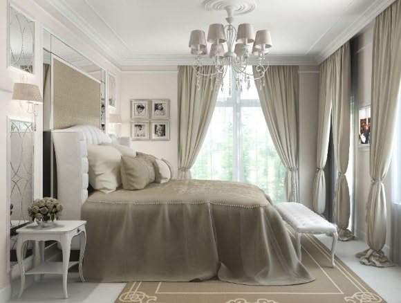 bedroom curtains modern ideas and