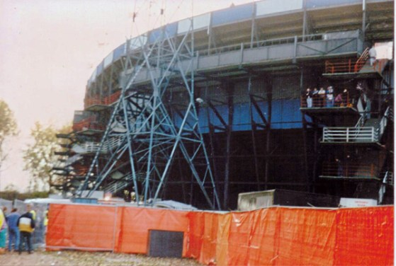 Nederland-Engeland (1993): De Kuip in oude vorm
