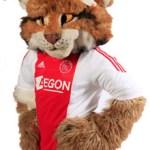 Lucky, de Ajax-mascotte