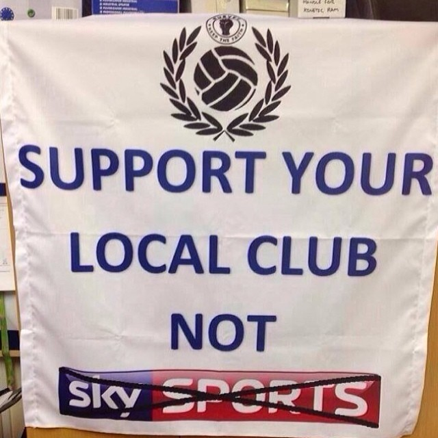 support your local club