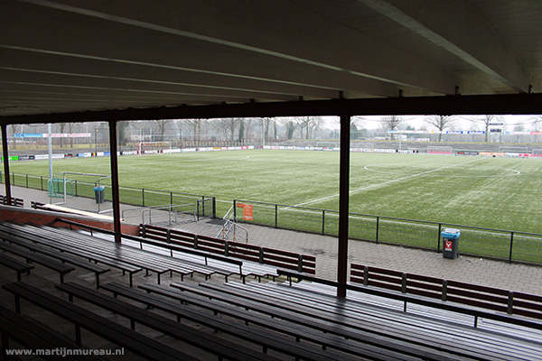 Een blik naar het veld