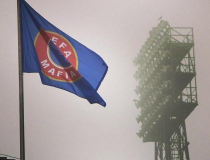 uefa mafia vlag feyenoord