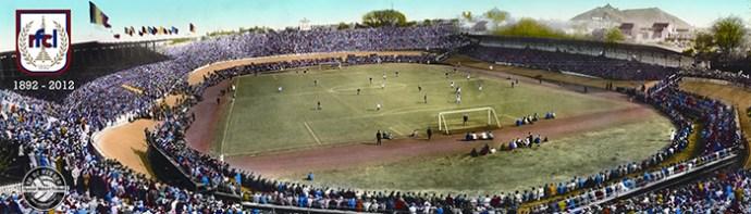 Het voormalig Stade de Rocourt in Luik