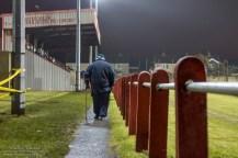 Afan Lido is de tweede club uit Port Talbot. Deze oude meneer is een van de trouwe fans van deze club