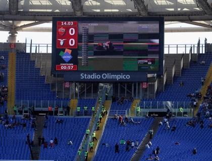 Boycot Derby van Rome, november 2015