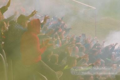 Gezang, vuurwerk een aanmoediging, aan de NAC fans zal het morgen niet liggen