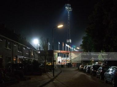 Een prachtige view op het stadion van FC Volendam