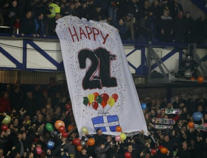 Happy 21st Everton
