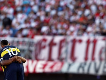 River Plate - Boca Juniors, december 2016. Foto: Pro Shots / Action Images