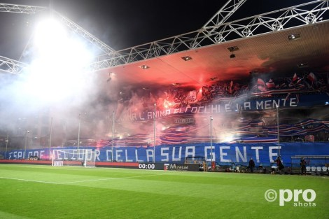 Derby della Lanterna tussen Genoa en Sampdoria. Foto: Pro Shots / Insidefoto