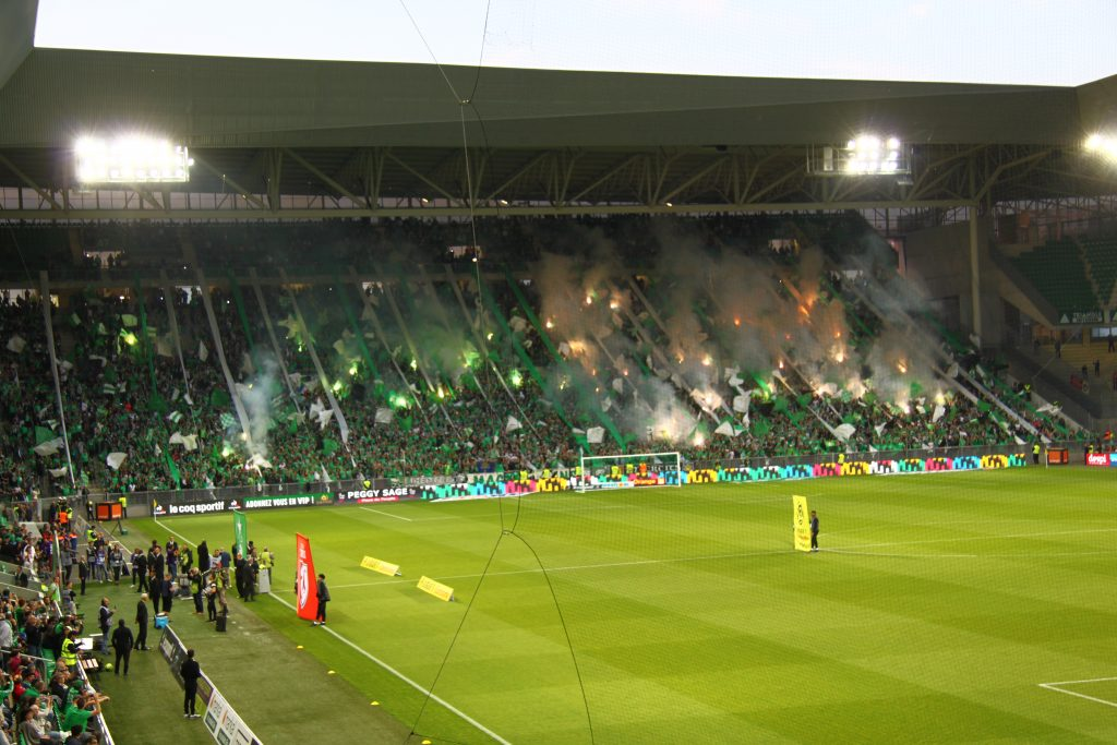 Tifo-actie Magic