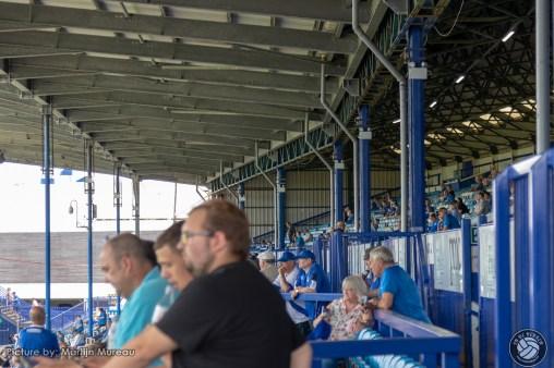 De North Stand is ook een juweeltje en staat er al vanaf de jaren 30