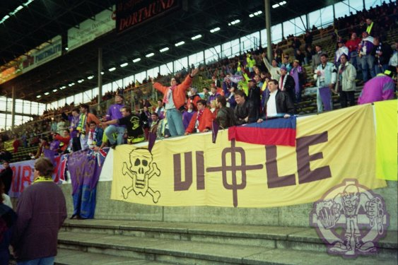 Supporters van Maribor