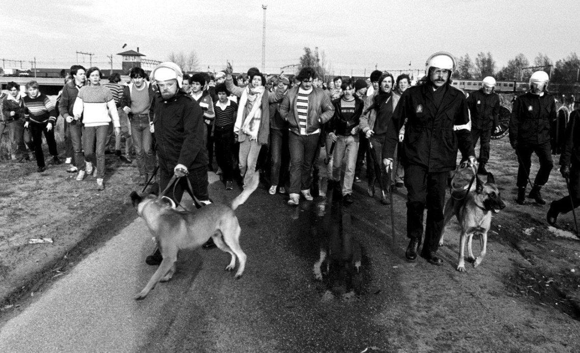 De Bunnikside van FC Utrecht was in de jaren 80 een van de meest gevreesde hooligangroepen in Nederland.