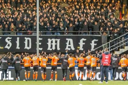 31-01-2020: Voetbal: FC Volendam v Helmond Sport: Volendam L-R Keuken Kampioen Divisie 2019-2020