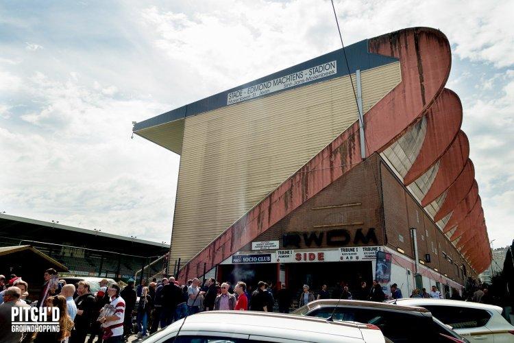 De derby van Brussel wordt in het stadion van RWDM gespeeld.
