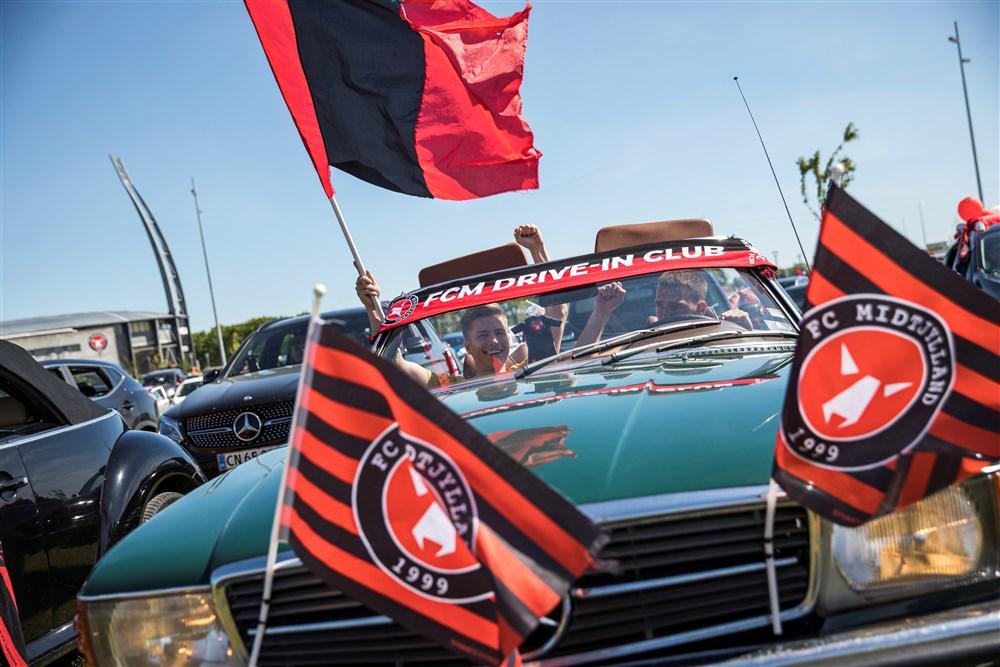 supporters van FC Midtjylland