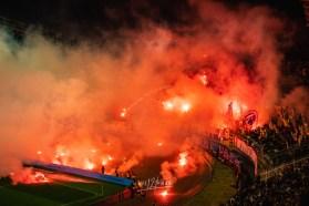 Voetbalklassiekers - Hrvatski Derbi: de clash tussen Hajduk Split (Torcida) en Dinamo Zagreb (Bad Blue Boys)