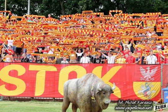 Jagiellonia tegen Lechia in 2011 Gdansk (via Michal Kardasz).