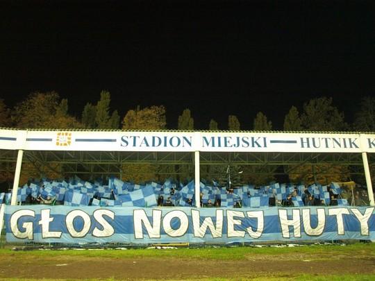 Hutnik - Cracovia (via ultras-tifo.net)