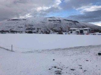 Het stadion van Magni Grenivík