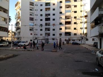 Beschoten flatgebouw