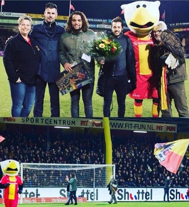 Jerry van Ewijk afscheid bij Go Ahead Eagles