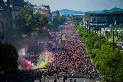 Foto via Hungary Ultras.