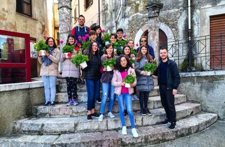 Giornata ecologica 2019 con i ragazzi di San Marco d'Alunzio