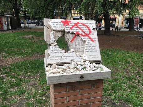 25 aprile: da Nord a Sud un'escalation di atti vandalici