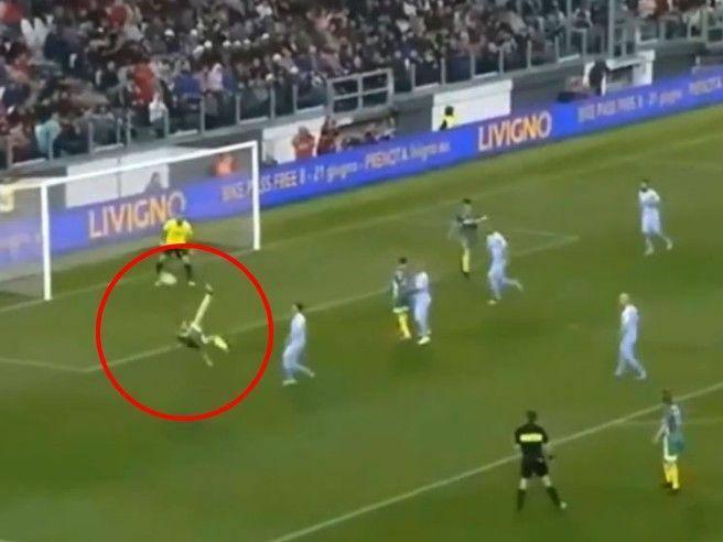 Telethon, partita del cuore, assist di Pirlo e rovesciata di Ronaldo