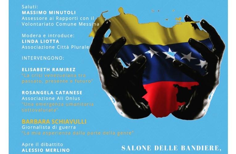 Solidarietà al Venezuela, convegno a Messina