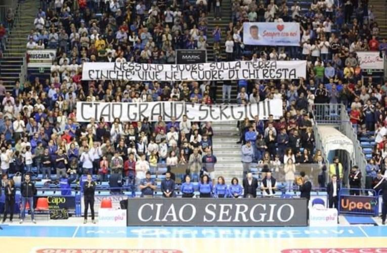 Basket, ciao grande Sergio.