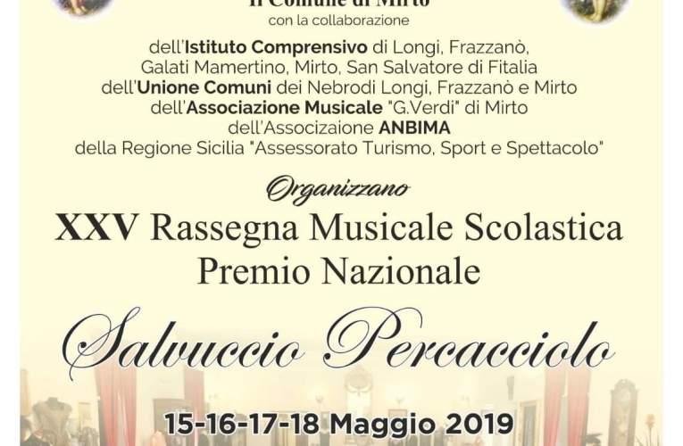 Ricordato Sergio Granata nella giornata di apertura della XXV Rassegna Scolastica  Musicale