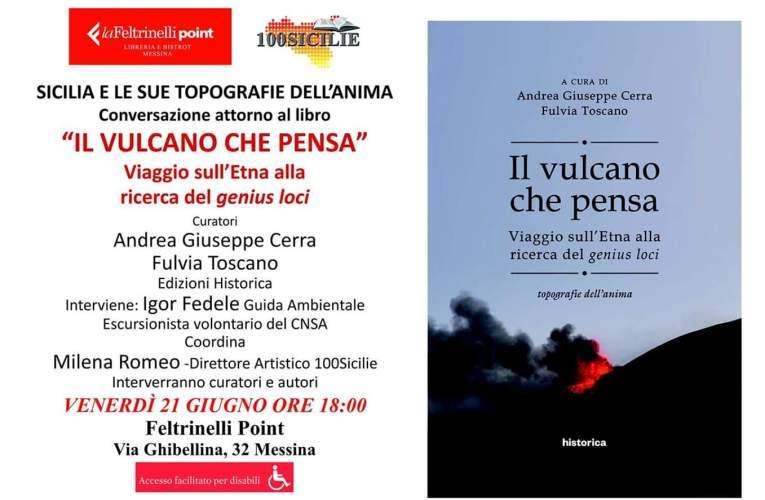 """""""Il vulcano che pensa"""" alla Feltrinelli di Messina."""