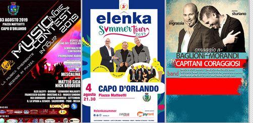 Teatro, il Music Indie Contest, cabaret con Toti e Totino e il Concerto Omaggio ai Capitani Coraggiosi